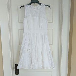 Eliza J White Dress